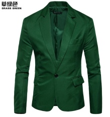 Where Can I Buy Ready Stock New Hot Korean Men S Fashion Slim Fit Stylish Casual Dress Suit Blazer Business Men Clothes Coat Jackets Grass Green Intl Intl