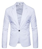 Compare Price Ready Stock New Hot Korean Men S Fashion Slim Fit Stylish Casual Dress Suit Blazer Business Men Clothes Coat Jackets White Intl Intl Oem On China