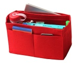 Buy Red L V Alma Mm Felt Tote Organizer Bag In Bag Purse Insert Cosmetic Makeup Diaper Handbag Intl Online