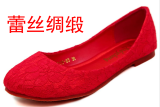 Compare Red Female New Style Flat Heel Bridal Shoes Shoes Prices