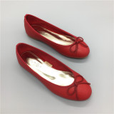 Sale Red Round Cooljie Baet Dance Flat Heel Women S Shoes Shoes Red 081 120 Other Branded