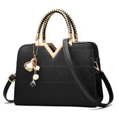 Sale Women S Messenger Shell Bag Black Black Online China