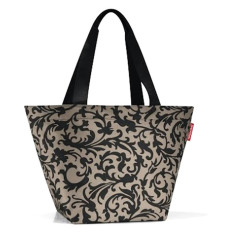 Low Cost Reisenthel Shopper M Baroque Taupe
