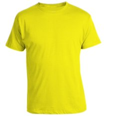 Sale Remme 100 Supima Cotton Round Neck T Shirt Buttercup Yellow On Singapore