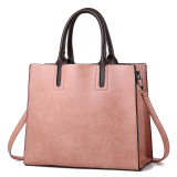 Sale Women S Minimalist Large Tote Bag Pink Pink Oem Cheap