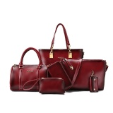 Price Comparisons For Retro Shoulder Portable Cross Body Large Bag Women S Bag Wine Red Color