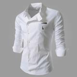 Reverieuomo 2016 New Cs36 Single Breasted Shirt Wjite Free Shipping