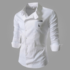 Where To Shop For Reverieuomo 2016 New Cs36 Single Breasted Shirt Wjite