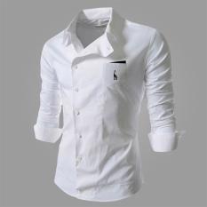 Reverieuomo 2016 New Cs36 Single Breasted Shirt Wjite Lowest Price