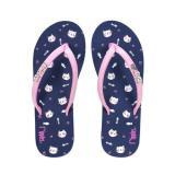 Ripples Ladies Ladies Flip Flops Kittens Navy Blue Free Shipping