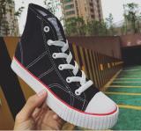 Sale Rising Bazaar Fashion Couples Cavans High Cut Sneaker Women Black Intl Telent Cheap