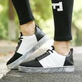 Latest Rising Bazaar Men S Sport Shoes Net Shoes Low Cut Fashion Sneaker Black White Intl