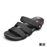 Discount Roman Couple Men Sandals Flat Student Harajuku Hong Kong Style Korean Ulzzang Wild Beach Shoes With Flat Sandals Women Black