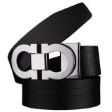 Runda Century Men S Smooth Leather Buckle Belt 35Mm Leather Up To 42Inch Reversible And Adjustable Black Silver Not Specified Intl Shopping