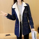 Cheapest Rushsky Fashion Thick Denim Coat Korean Style Denim Jacket For Winter Intl Online