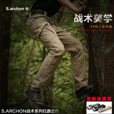 Compare Price S Archon Tactical Pants Tactical Black Genuine Tactical Black Genuine Oem On China