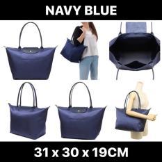 ee416a9800a0  SALE Longchamp Le Pliage Neo Long Handle Large Navy Blue 1899 578 556