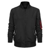 Sales Zeagoo Women Classic Solid Biker Slim Jacket Zip Up Short Bomber Jacket Coat Black Intl Best Price