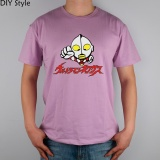Buy Salted Egg Superman Ultraman Monster Mens T Shirts With Short Sleeves Summer Men S Tee Men T Shirt Purple Intl Diy Online