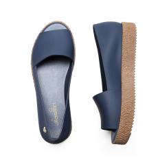 Sale Women S Platform Peep Toe Gladiator Shoes Dark Blue Dark Blue Oem Cheap