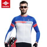 Santic 2017 Summer Cycling Jersey Anti Uv Thin Breathable Long Sleeve Dh Mtb Bike Top Clothing Bicycle Shirt Jersey Camiseta Ciclismo Lower Price