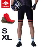 Discounted Santic 2017 Summer Men Pro Cycling Shorts Italy Imported Sponge Cushion Mountain Bike Shorts Downhill Shorts Bicycle Shorts Intl
