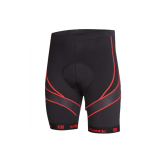 Discount Santic Gel Padded Summer Cycling Short Pants Shorts Lightspeed Black Red Santic