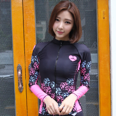 Buy Sbart Korean Style Female Split Sunscreen Surf Clothing Diviing Clothes Online