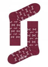 Happy Socks Sbtg Bones Sock Red White Happy Socks Discount