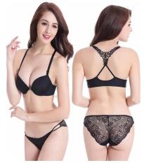 Cheapest Seamless T Shirt Jessica Lace Belt Beauty Beach Tainted Underwear Wearing Bra Set Intl