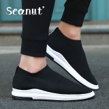 Seanut Fashion Spring Men Shoes Breathable Casual Shoes Loafers Comfortable Ultralight Lazy Slip On Shoes Flats Intl Online