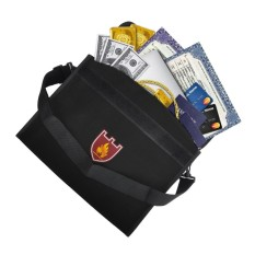 Purchase Security Bag Business ​document Bag Large Capacity Fireproof Document Bag With Strap 38 X 28 X 7 5Cm Intl