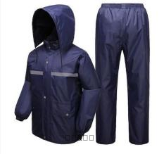 Price Comparisons For Security Sanitation Traffic Rain Pants Reflective Raincoat Tianhang Double Blue Dark Blue Tianhang Double Blue Dark Blue