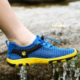 Best Price Seewow Outdoor Men Mesh Breathable Sandals Fishing Shoes Blue