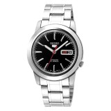 Seiko Men S 5 Automatic Silver Stainless Steel Band Watch Snke53K1 Online