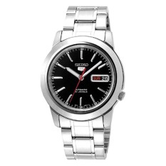 Price Seiko Men S 5 Automatic Silver Stainless Steel Band Watch Snke53K1 Singapore