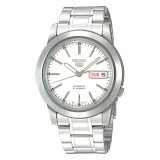 Seiko Men S 5 Automatic Silver Stainless Steel Band Watch Snke49K1 In Stock