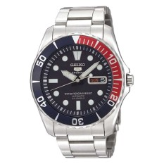 [MUST BUY]Seiko Mens 5 Sports Automatic Silver Stainless Steel Band Watch SNZF15K1 Malaysia