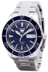 Sale Seiko Automatic Sports Men S Silver Stainless Steel Band Watch Snzh53K1 Online Singapore