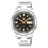 Discount Seiko Men 5 Automatic Men S Silver Stainless Steel Watch Snkk17K1 Seiko On Singapore