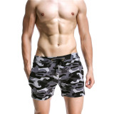 Sale Seobean Cotton Low Waist Camouflage Men S Pajamas Casual Home Pants Gray China