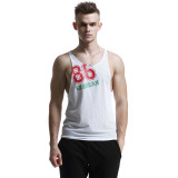Seobean Men S*Xy Tank Tops Fitness Longline Sleeveless Shirt Dropped Armhole Drop Hem White Size S Xl Intl On Line