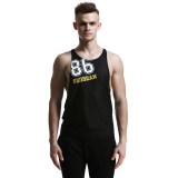 Discounted Seobean Men S Tank Tops Fashion Sport Sleeveless Undershirts For Male Bodybuilding Tank Tops Casual Summer Vest Black Size S Xl Intl