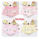 Set 4Pcs Girls Stripe Cotton Rabbit Underwear Chirdren Briefs Baby Panties Intl Price