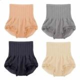 Price Set Of 4 Fanco Japan Seamless Hip Abdomen Fat Burning Waist Slim Panty Girdle Black Grey Beige N*d* Intl On China