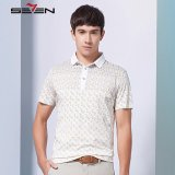 Seven Brand Men S Printed Polo Shirts Casual Golf Tennis Sport Tee Yellow Promo Code