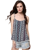 S*xy Ladies Women Back Cross Strap Spaghetti Strap Floral Blouse Tops Intl Best Buy