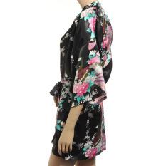 Best Offer S*xy Sleepwear Lingerie Long Bath Robe Japanese Kimono Nightgown
