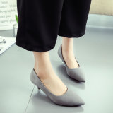 Discount S*xy Women Spring Summer Thin Heeled Women S Shoes Gray Admirezzii On China