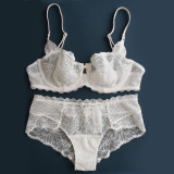 Discount S*Xy Ultra Thin Suit Underwear Lace Bra White Other